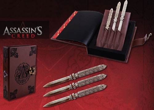 Assassins Creed Aguilar's Thrrowing Knife Set