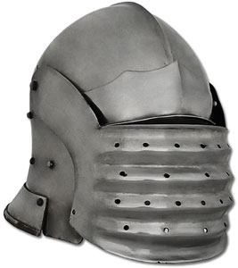 Bellows Face Sallet Helmet