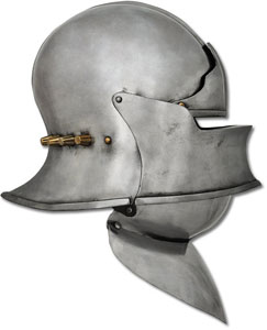 European Sallet with Visor