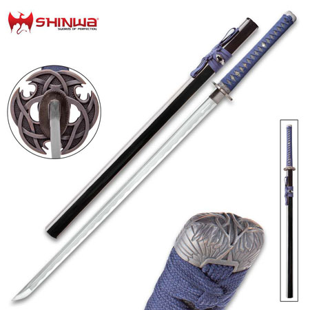 Blue Knight Katana Swords