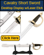 Cavalry Sword Display
