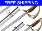 Cavalry Swords Brown 5 Pack Special