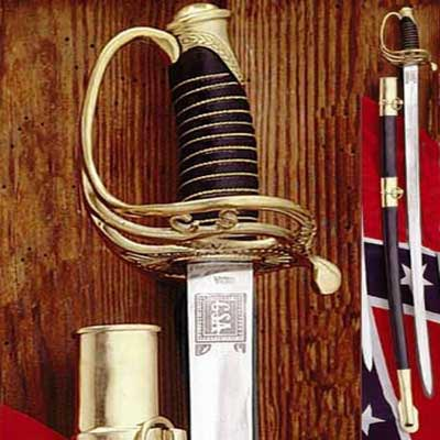 Confederate Cavalry Officer Swords