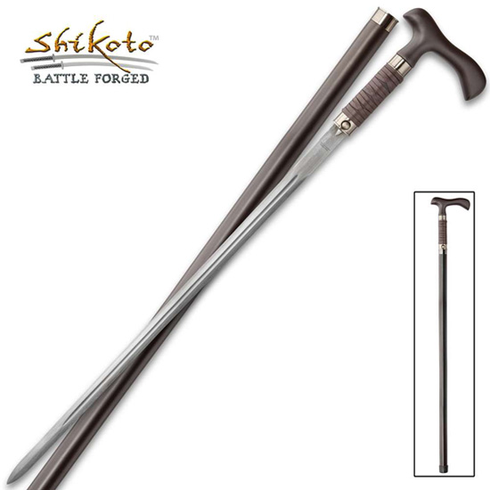 Sword Canes with Damascus Steel