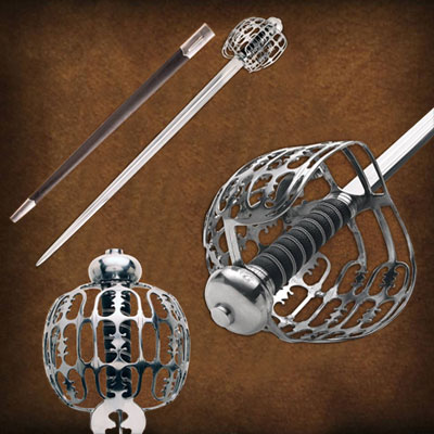 Scottish Basket Hilt Swords