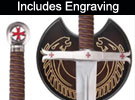 Fighting Knights Templar Swords