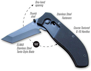 FirstEdge's Tracklock Folder Knife