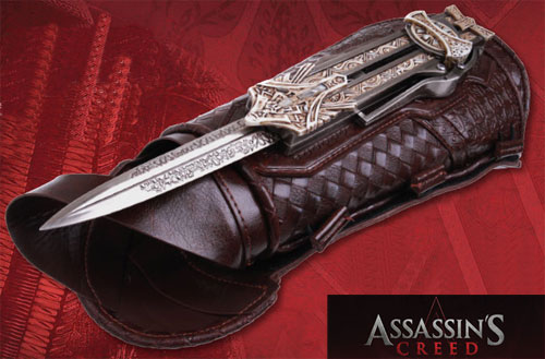 Assassin S Creed Movie Extension Knife Vambrace For Sale