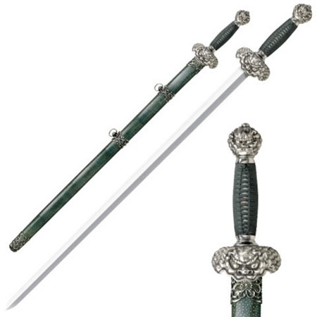 Jade Lion Gim Swords