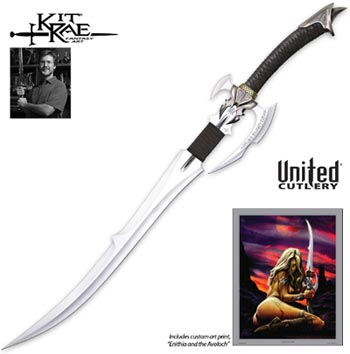 Kit Rae Swords