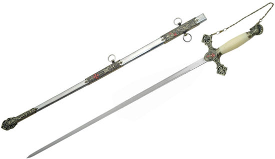 Knights Templar Swords