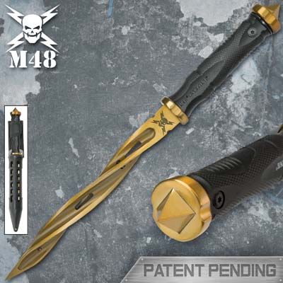 M48 Gold Cyclone Knife