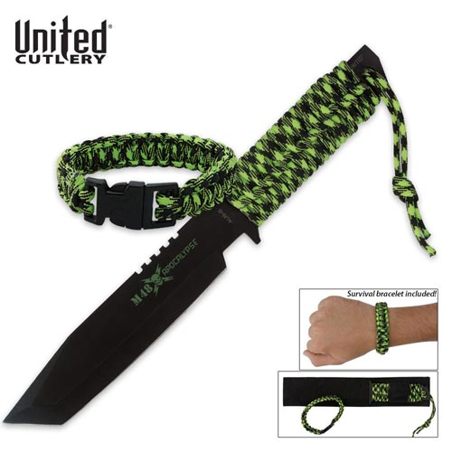 M48 Paracord Knife with Bracelet