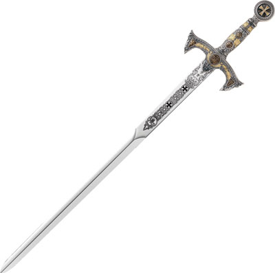 Marto Templar Knights Swords