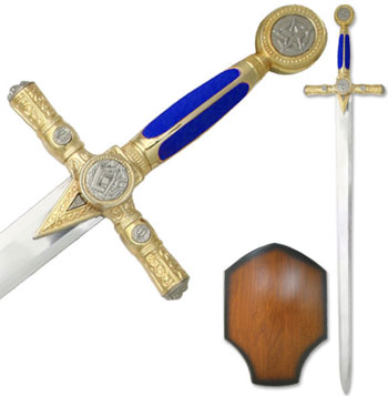 Masonic Swords with Display