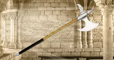 Medieval Battle Axe