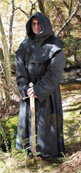 Medieval Robe in Black