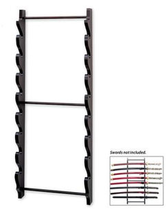 8 Piece Sword Display Rack