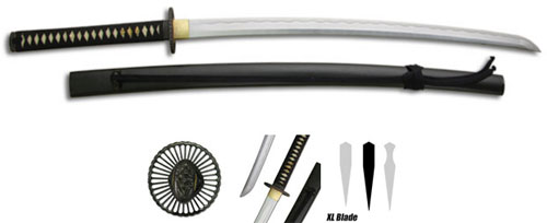Practical Plus Katana Swords XL