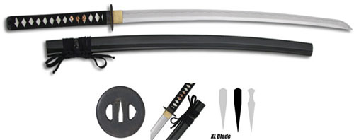 Practical XL Katana Swords