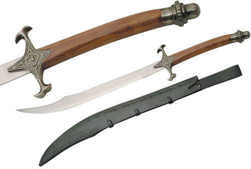 Medieval Raider Scimitar Swords