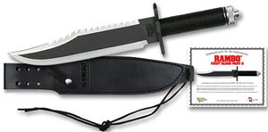 Rambo Movie Knives