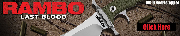Official Rambo Last Blood Movie Knives