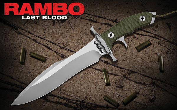 Rambo Last Blood Heartstopper Movie Knife