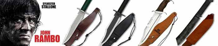 Rambo Knives - Officially Licensed Movie Replicas