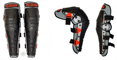 Red Dragon HEMA Knee and Shin Guards