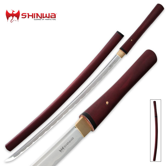 Red Zatoichi Stick Swords
