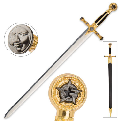 Royal Freemason Swords with Scabbard