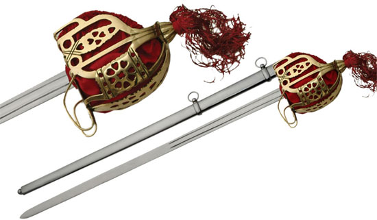 Scottish Basket Hilt Broadswords