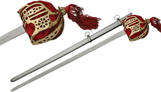 Scottish Baskethilt Broadswords