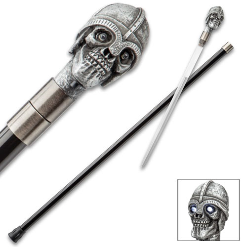 Battle Skull Sword Canes