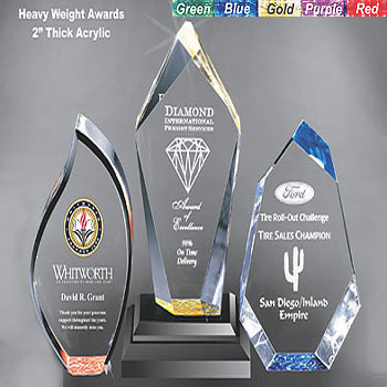 Specialty Acrylic Awards and Trophies