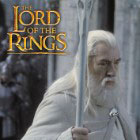 Lord of the Rings Staff of Gandalf the White