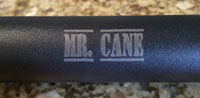 Sword Cane Etching