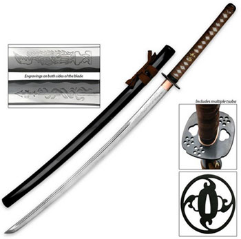 Ten Ryu Samurai Swords