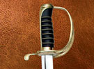 Marine Swords with Gold Fittings