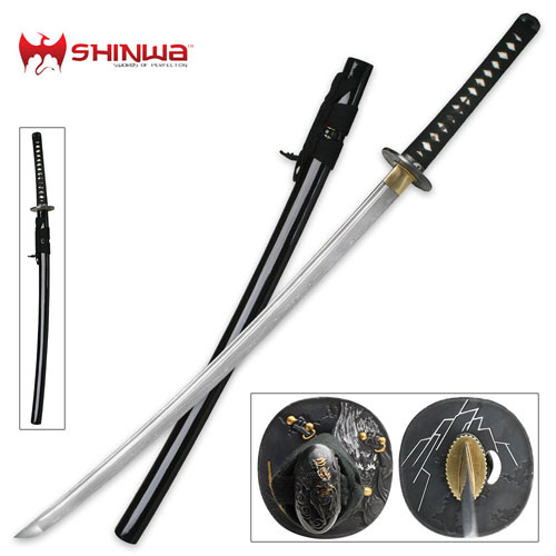 Thunder God Battle Samurai Swords