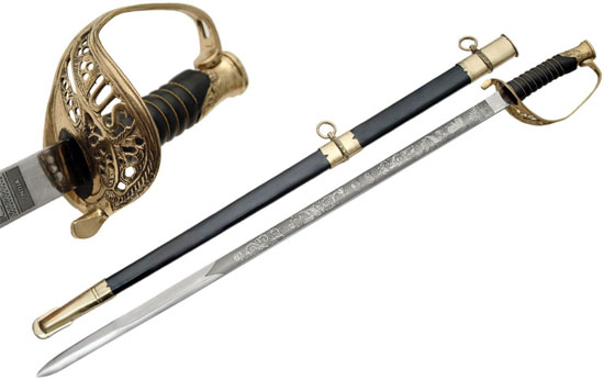 Union Foot Officer Swords