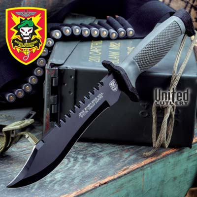 military survival knife
