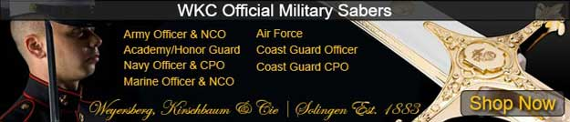 Official WKC Military Sabers