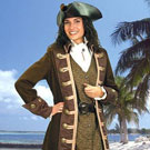 Women's Pirate Coats